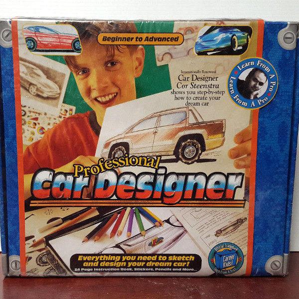 Career Kids Professional Car Designer Kit