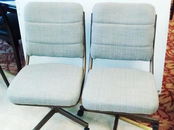 Chromcraft Swivel Tilt Dining Chairs