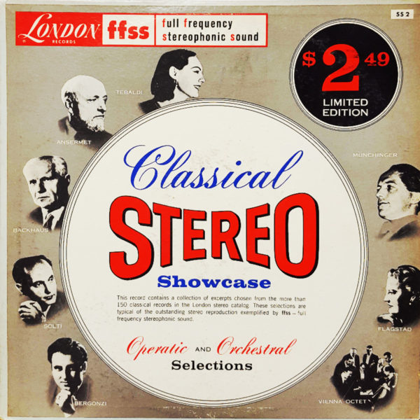 Classical Stereo Showcase 1960 London