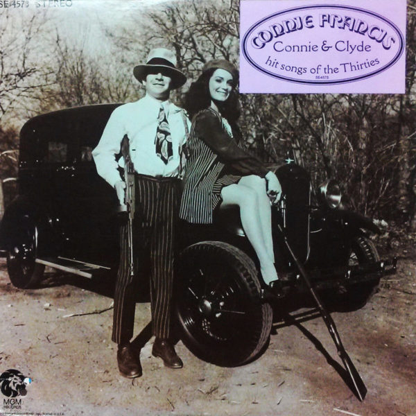 Connie Francis - Connie & Clyde hit songs of the 30's