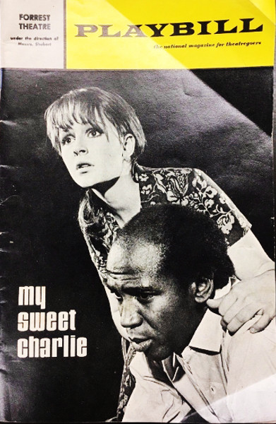 Forrest Theatre Playbill - My Sweet Charlie