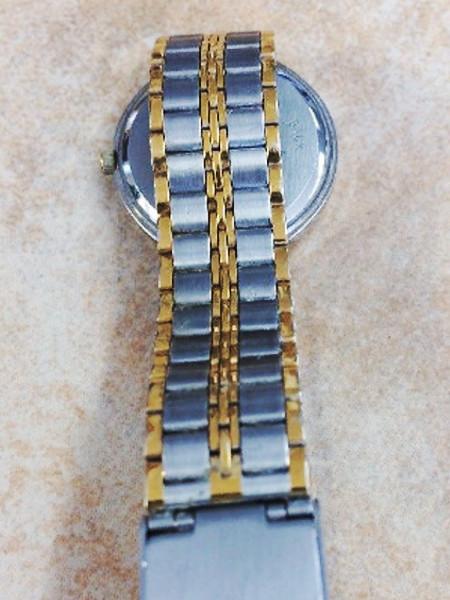 Gold Tone First Class Quartz Watch