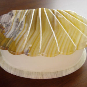 Marble Shell Trinket Box