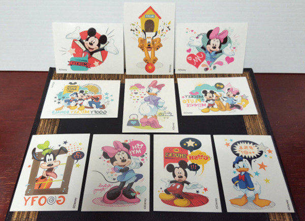 Mickey Mouse and Friends Temporary Tattoos