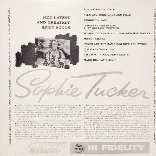 Sophie Tucker - Her Latest and Greatest
