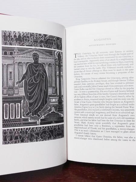 The Twelve Caesars 2000 Folio Society Hardcover 9th Printing