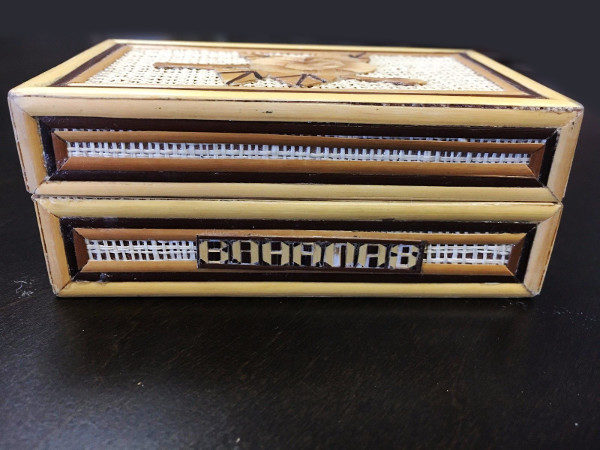 Vintage Bahamas Wooden Trinket Box