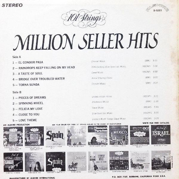 101 Strings - Million Seller Hits 1971 Alshire