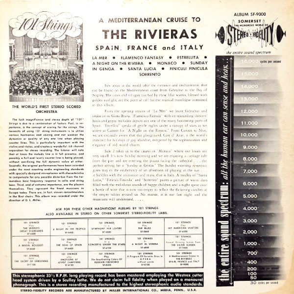 101 Strings - The Riviera