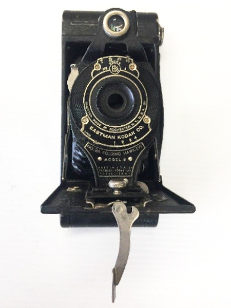 1926-30 Eastman Kodak Hawk-eye NO 2A Folding Box Camera - Model B