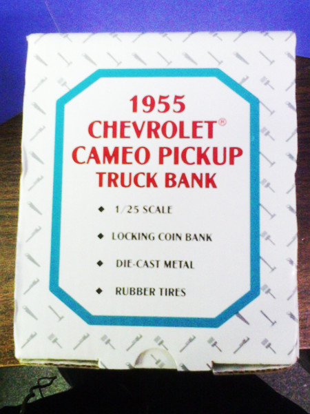 1955 Chevrolet Cameo Pickup Truck Bank