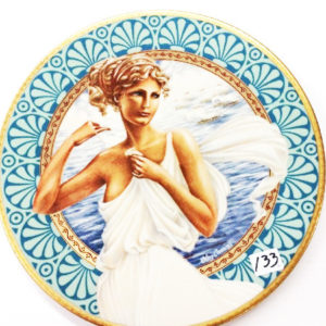 1981 Helen of Troy Plate Premier Issue in Oleg Cassini's Collection-Box