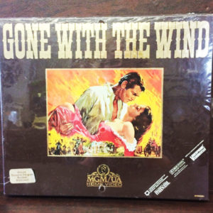 1985 Gone With the Wind VHS Gold Edition
