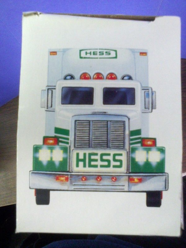 1992 Hess Toy 18 Wheeler Box Truck and Racer