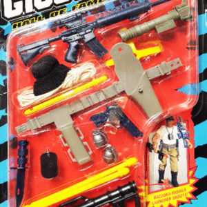 1993 Hasbro GI Joe Hall of Fame Urban S.W.A.T. Weapons Arsenal