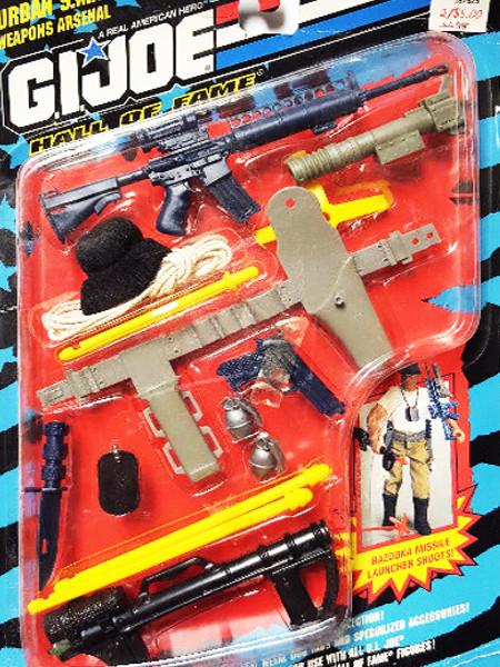 1993 Hasbro GI Joe Hall of Fame Urban S.W.A.T. Weapons Arsenal