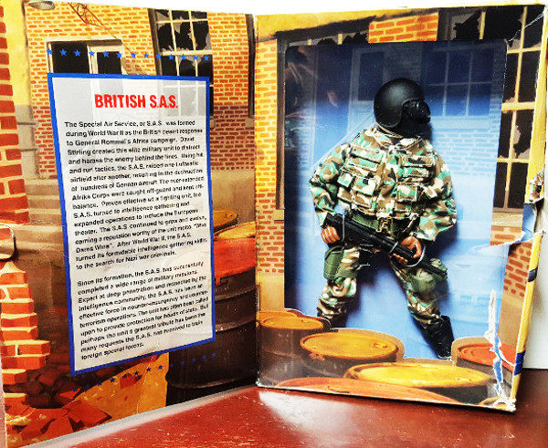 1996 GI Joe Classic Collection Limited Edition British S.A.S.