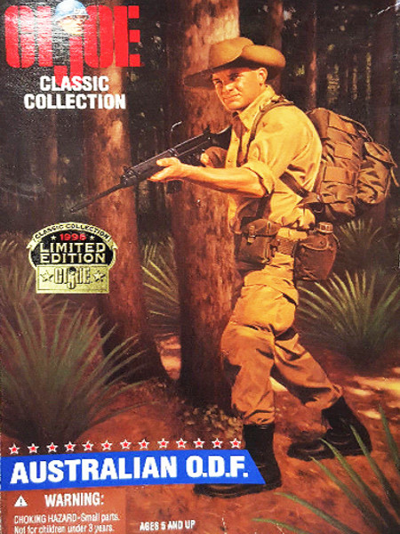 1996 Hasbro GI Joe Classic Collection Limited Edition Australian O.D.F.