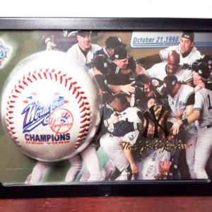 1998 World Series Champions New York Yankees 24K Gold Logo