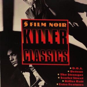 5 Film Noir Killer Classics