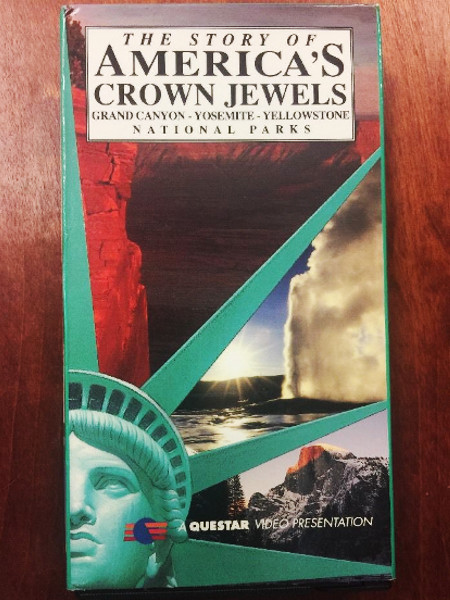 American Crown Jewels VHS The Story Of National Parks