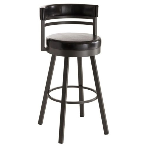 Miraculous Amisco Ronny Stool Bar Counter Or Spectator Height Choose Finish Fabric Height Caraccident5 Cool Chair Designs And Ideas Caraccident5Info