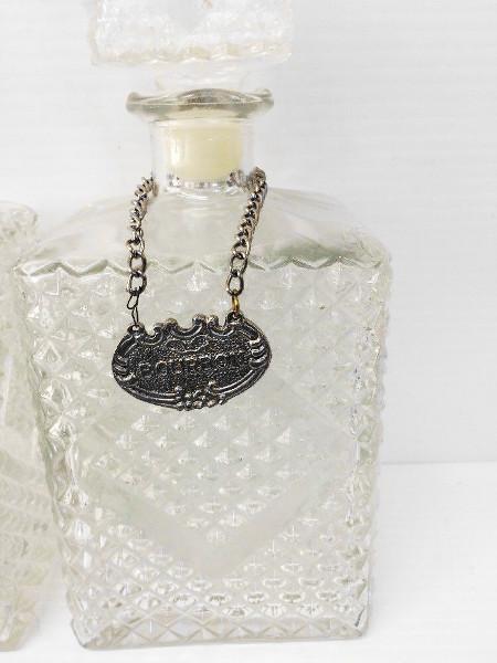 Antique Bourbon And Rye Decanter Bottles