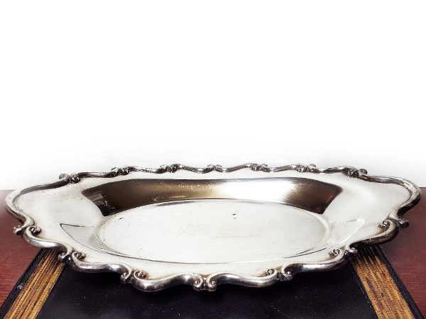 Antique F.B. Rogers Silverplate Serving Tray