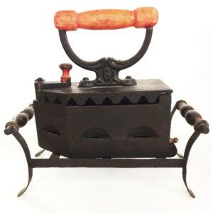 Antique Replica Cast Iron Sad Coal Fired Iron