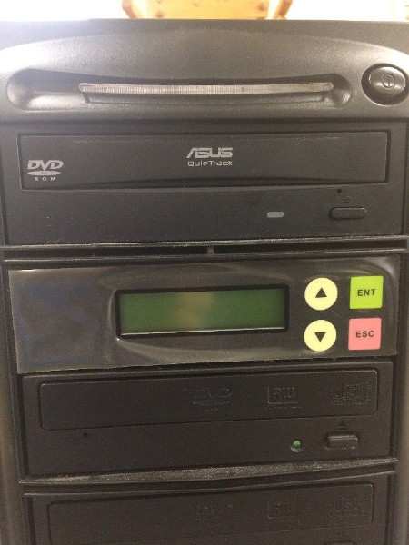 Asus Quietrack 3 Disc DVD CD Duplicator