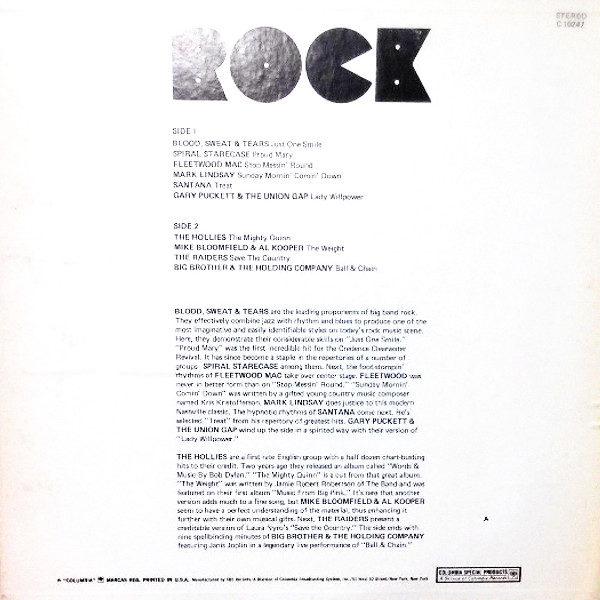 """""""ROCK"""" 1971 Columbia Records"""